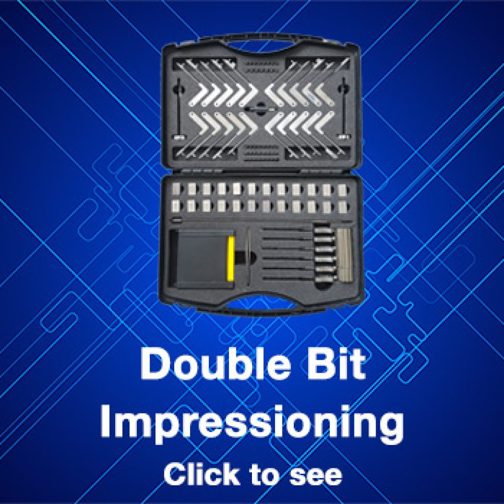 double-bit-impressioning